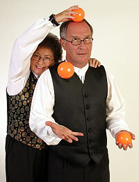 The Kimplings put on a balled display of juggling, sharing and caring.